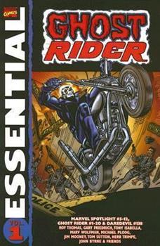 Essential Ghost Rider, Vol. 1 (Marvel Essentials) - Book  of the Essential Marvel