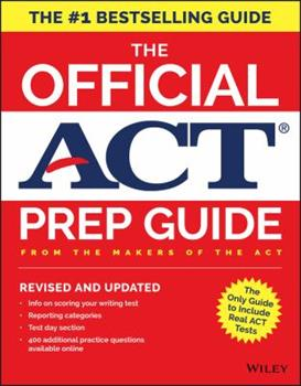 Paperback The Official Act Prep Guide : From the Maker of the Act Book