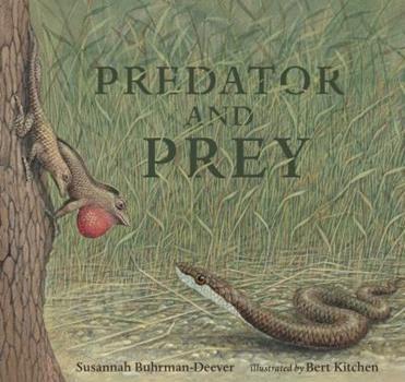 Hardcover Predator and Prey: A Conversation in Verse Book