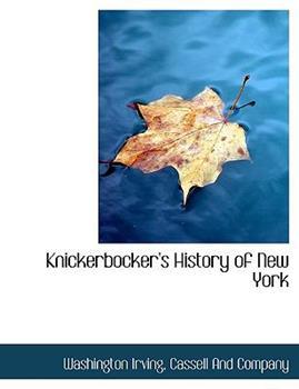 Paperback Knickerbocker's History of New York Book