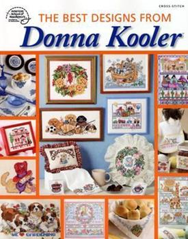 The Best Designs From Donna Kooler: Cross Stitch 1590120817 Book Cover