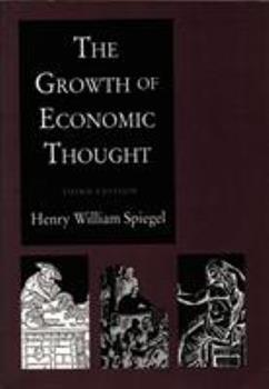 The Growth of Economic Thought 0822305518 Book Cover