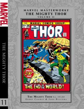 Marvel Masterworks: The Mighty Thor, Vol. 11 - Book #176 of the Marvel Masterworks