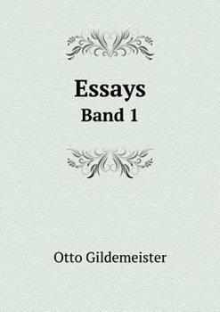 Paperback Essays Band 1 Book