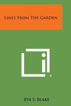 Paperback Lines from the Garden Book