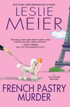 Hardcover French Pastry Murder Book