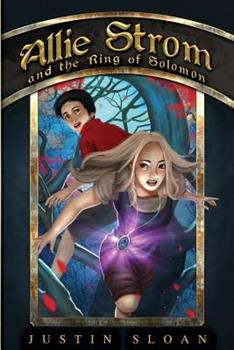Paperback Allie Strom and the Ring of Solomon Book