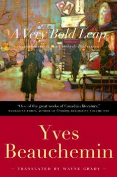 Paperback A Very Bold Leap (Charles the Bold) Book