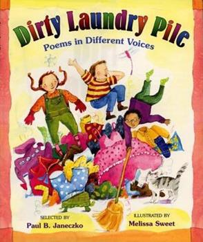 Dirty Laundry Pile: Poems in Different Voices 0688162525 Book Cover