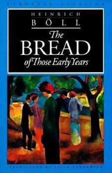 The Bread of Those Early Years 0810111632 Book Cover