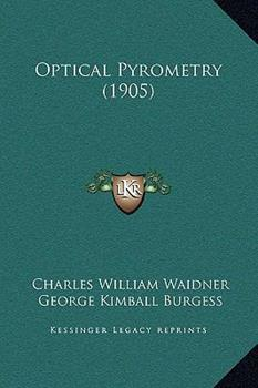 Hardcover Optical Pyrometry Book