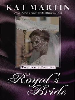 Hardcover Royal's Bride [Large Print] Book