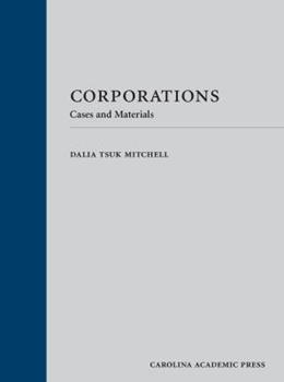 Hardcover Corporations: Cases and Materials Book
