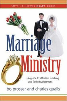 Paperback Marriage Ministry: A Guidebook Book