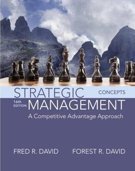 Strategic Management: Concepts 0133444899 Book Cover