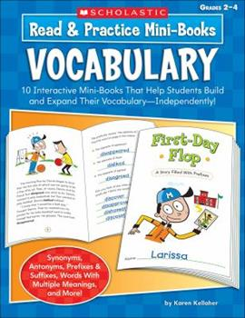 Read  Practice Mini-Books: Vocabulary: 10 Interactive Mini-Books That Help Students Build and Expand Their Vocabulary-Independently! 0439453402 Book Cover