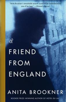 A Friend from England 0060972025 Book Cover
