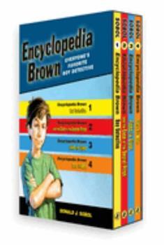 Paperback Encyclopedia Brown Box Set (4 Books) Book