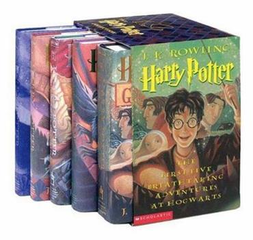 Harry Potter Adult Boxed Set (Harry Potter, #1-5)