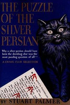 The Puzzle of the Silver Persian 0553259342 Book Cover