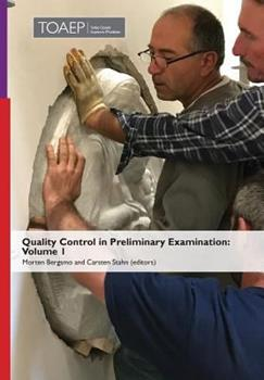 Hardcover Quality Control in Preliminary Examination: Volume 1 Book