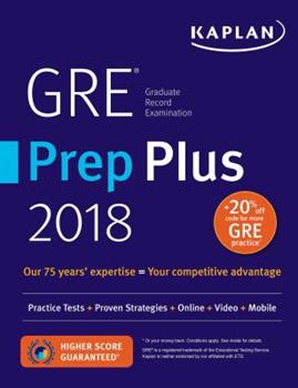 Paperback GRE Premier 2018 with 6 Practice Tests : Online + Book + Videos + Mobile Book