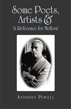 Some Poets, Artists & 'A Reference for Mellors' 1857252101 Book Cover