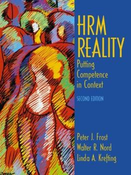 Paperback Hrm Reality: Putting Competence in Context Book