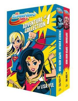 The DC Super Hero Girls Adventure Collection #1 1524716316 Book Cover