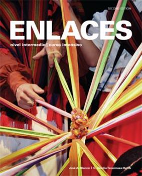 Loose Leaf Enlaces 2nd Looseleaf Textbook w/ Supersite & vText Code & Student Activities Manual [Spanish] Book