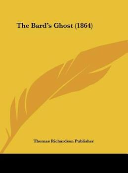 Hardcover The Bard's Ghost Book