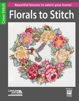 Florals to Stitch 1464711488 Book Cover