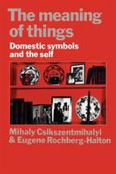 The meaning of things 052128774X Book Cover