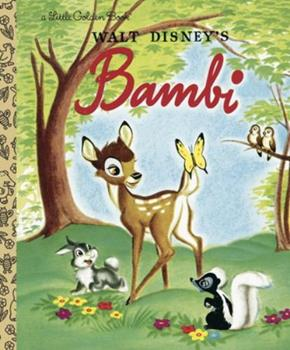 Bambi: A Little Golden Book - Book  of the Disney's Wonderful World of Reading