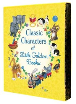 Classic Characters of Little Golden Books - Book  of the Little Golden Books