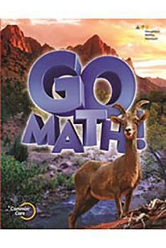 Paperback Go Math!: Student Edition Chapter 8 Grade 6 2015 Book