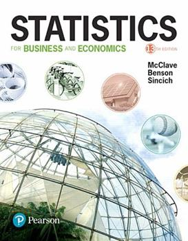 Statistics for Business & Economics 0023784113 Book Cover