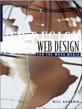 Web Design for the Mass Media 0801332834 Book Cover