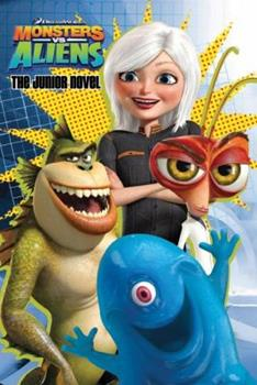 Paperback Monsters vs. Aliens: The Junior Novel Book