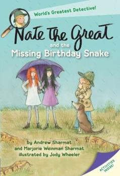 Nate the Great and the Missing Birthday Snake 1101934670 Book Cover