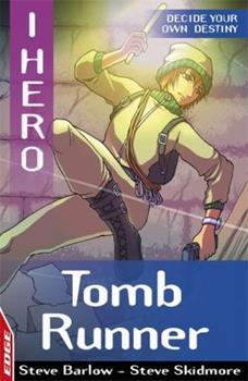 Paperback EDGE: I HERO: Tomb Runner Book