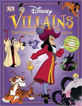 Hardcover Disney Villains: The Essential Guide (DK Essential Guides) Book
