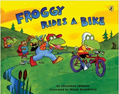 Froggy Rides a Bike - Book  of the Froggy