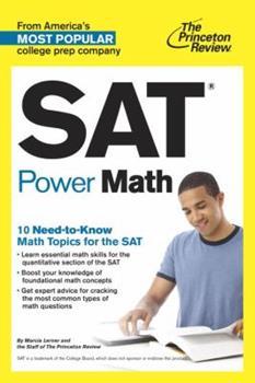 SAT Power Math (College Test Preparation)