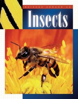 Library Binding Insects (Science Around Us) Book