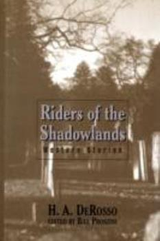 Riders of the Shadowlands: Western Stories 0786213299 Book Cover