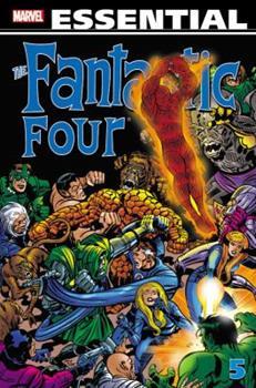 Essential Fantastic Four, Vol. 5 (Marvel Essentials) - Book  of the Essential Marvel