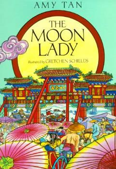 Hardcover The Moon Lady Book