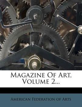 Paperback Magazine of Art, Volume 2... Book