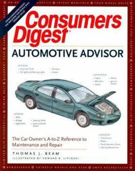 Paperback Consumer's Digest Automotive Advisor Book